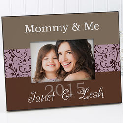 Mommy & Me Personalized Frame