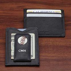 Personalized MLB Baseball Team Wallet
