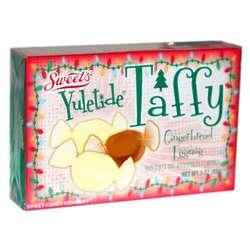 Yuletide Gingerbread Eggnog Taffy Theater Box 3oz