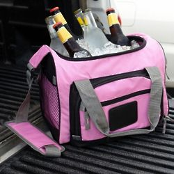 Pretty in Pink Portable Cooler with Removable Liner