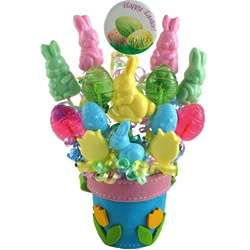 Happy Easter Lollipop Bouquet