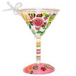 Bff Mini Martini Glass Ornament