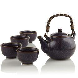 Aubergine Teapot Set