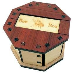 Handmade Bee Box Brainteaser Puzzle