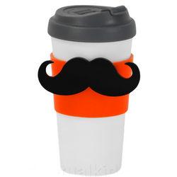 Magstache Moustache Travel Mug
