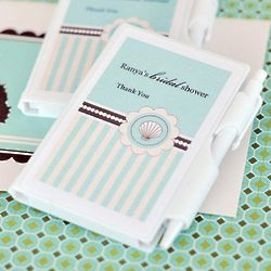 Personalized Themed Notebook Favors