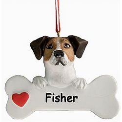 Personalized Jack Russell Terrier Ornament