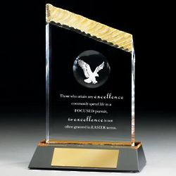 Personalized Eagle Iceberg Award