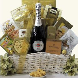 Simply Chic Martini & Rossi Sparkling Wine Gift Basket