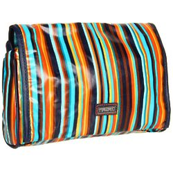Hadaki Arabesque Stripes Coated Toiletry Bag