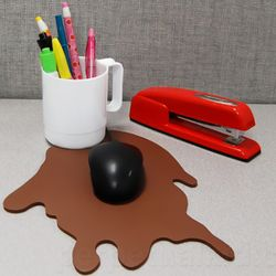 Spilled Coffee Mousepad Set