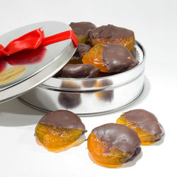 Chocolate Dipped Australian Glazed Apricots