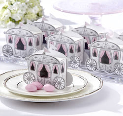 'Enchanted Carriage' Baby Shower Favor Boxes