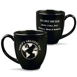 Personalized World's Greatest Dad Mug