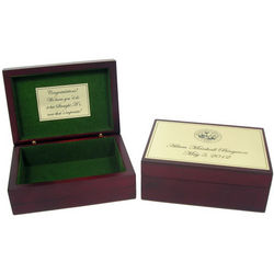 Personalized Graduation Memory Box with University Seal