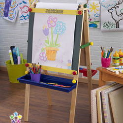 Personalized Child Artist Easel with Paper Roll