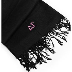 Greek Embroidered Pashmina Scarf