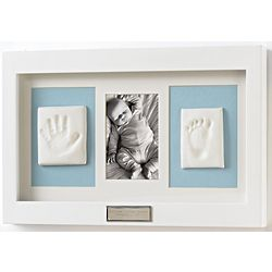 Deluxe Baby White Keepsake Kit