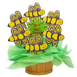Bee Well Soon Sugar Cookie Basket