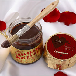 Dessert's on Me Personalized Chocolate Body Paint