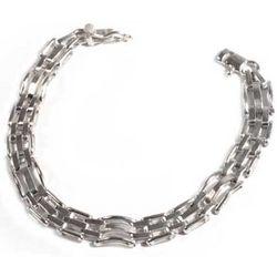 Men's Executive Silver Bracelet