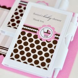 Baby Shower Personalized Themed Notebook Favors