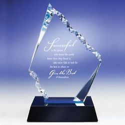 Personalized Glacier Award