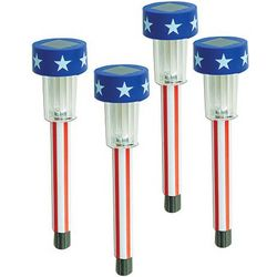 Patriotic Solar Lights Set