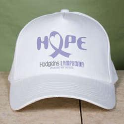Hope Hodgkins Lymphoma Cancer Awareness Hat