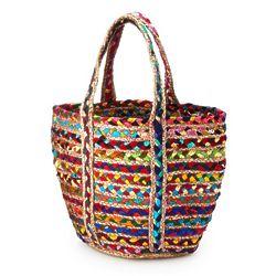 Upcycled Sari Tote Bag