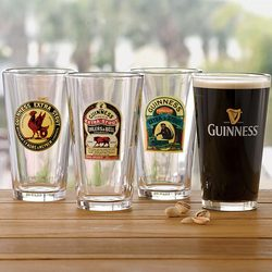 Vintage Guinness Pint Glasses