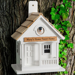Personalized Home Tweet Home Birdhouse