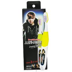 Justin Bieber Somebody to Love and Love Me Singing Toothbrush