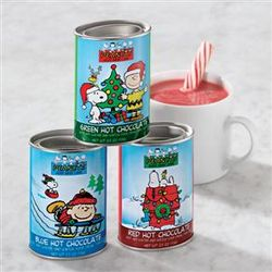 Christmas Peanuts Hot Chocolate Trio
