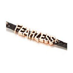 Fearless Glitz Affirmation Bracelet