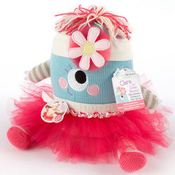 Clara the Closet Monster Baby Bloomers, Headband and Monster Toy