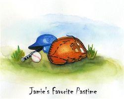 America's Favorite Pastime Fine Art Print