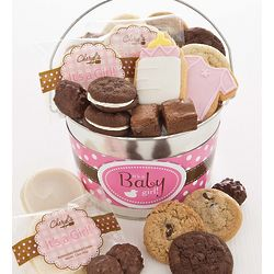 Baby Girl Sweets Pail