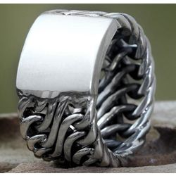 Men's Fire Lord Sterling Silver Ring