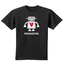 Personalized Robot T-Shirt