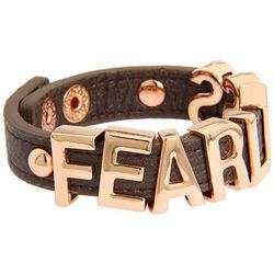 Fearless Smooth Affirmaition Bracelet