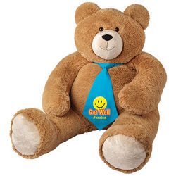 Big Hunka Love Get Well Necktie Teddy Bear