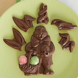 Chocolate Rabbit with Extra Ears