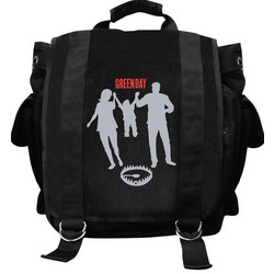 Green Day 'Family' Messenger Bag