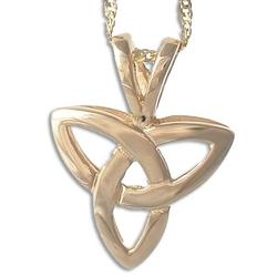 14kt Trinity Knot Pendant