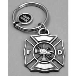 Personalized Fire Fighter Keyring