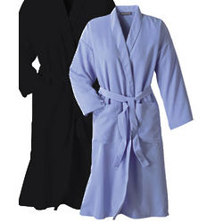Periwindle Blue Microfiber Travel Robe