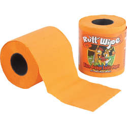 Blaze Orange Toilet Paper for Hunters