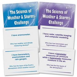 The Science of Weather and Storms Challenge Game