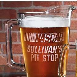 Personalized 60 oz. Nascar Pitcher